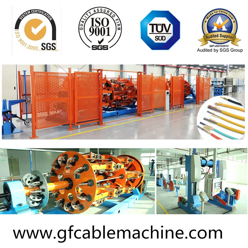 Distribution/Breakout cable sheathing line-optical cable machine