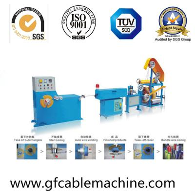 Cable Wire Coiling and Rewinding Machine